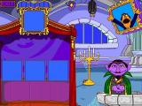 Sesame Street: Kindergarten Windows Count von Count's Match the Moons: When the player gives a correct answer the announcer gives a very encouraging over-the-top performance
