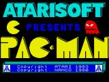 Pac-Man ZX Spectrum Title screen