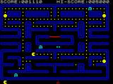 Pac-Man ZX Spectrum You can munch on ghosts when they turn blue