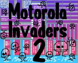 Motorola Invaders 2 Amiga Title screen