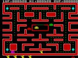 Ms. Pac-Man ZX Spectrum Gameplay on the first level