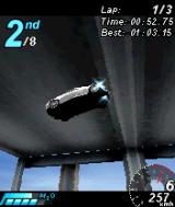 Asphalt: Urban GT N-Gage A spectacular jump in wrongest of places.