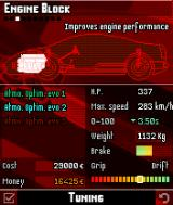 Asphalt: Urban GT N-Gage Different upgrades to improve specs of your ride.