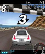 Asphalt: Urban GT N-Gage At the start line.