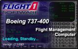 737-400: Greatest Airliners - Special Edition Windows FMC loading screen; this can be run standalone, or from within the flight simulator.