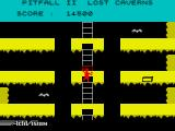Pitfall II: Lost Caverns ZX Spectrum Be careful climbing these ladders