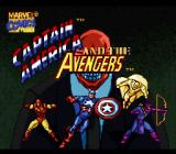 Captain America and the Avengers SNES Title Screen