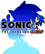 Sonic Advance N-Gage Title screen.