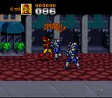 Captain America and the Avengers SNES Iron Man smashes foes