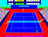 Tennis Exelvision Serving