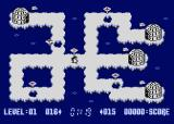 The Great Return of the Penguins Atari 8-bit Hole covered for 3 seconds