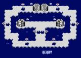 The Great Return of the Penguins Atari 8-bit Get ready for level 2