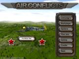 Air Conflicts: Air Battles of World War II Windows Starting a Russian campaign for my pilot - the German plane on screen is just part of the constantly changing background.
