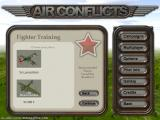 Air Conflicts: Air Battles of World War II Windows We start with Fighter Training in April 1939; the suggested plane is the LA-5 which did not exist at the time. Realism isn't the forte of this game.