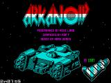 Arkanoid ZX Spectrum Loading screen