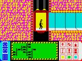 Impossible Mission ZX Spectrum Running around the corridors
