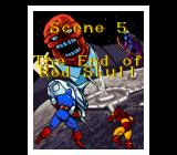 Captain America and the Avengers SNES Scene 5 - The End of Red Skull.