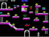 Bounty Bob Strikes Back! ZX Spectrum Beginning the first level