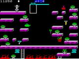 Bounty Bob Strikes Back! ZX Spectrum Use the lift to reach all of those little platforms