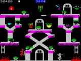 Bounty Bob Strikes Back! ZX Spectrum There are slides everywhere!!