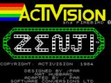 Zenji ZX Spectrum Title screen