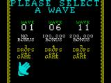 Klax ZX Spectrum Select starting level