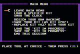 Fix It Apple II Main menu