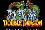 Double Dragon Game Boy Advance Title Screen