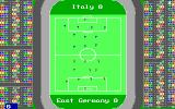 Football Manager: World Cup Edition 1990 DOS The Match (EGA).