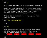 L: A Mathemagical Adventure BBC Micro Finding a calculator