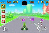 Mario Kart: Super Circuit Game Boy Advance Grab a box and get an item that you can use to slow down the other drivers.