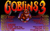 Goblins Quest 3 DOS Title screen
