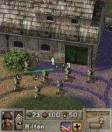 Pathway to Glory N-Gage I got eight soldiers in my squad this time.