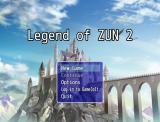 Legend of Zun 2 Windows Title screen