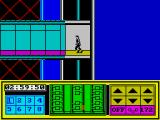 Impossible Mission II ZX Spectrum Exploring the corridors