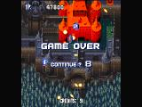 Sonic Wings Special PlayStation The 2nd boss. And... game over.