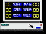 Impossible Mission II ZX Spectrum Using a computer terminal