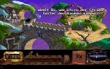 The Legend of Kyrandia: Hand of Fate DOS A screen from the German version