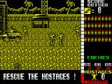 Operation Wolf ZX Spectrum Enemies attacking...