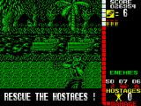 Operation Wolf ZX Spectrum Somewhere in the jungle...