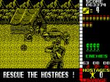Operation Wolf ZX Spectrum Take this village by force...