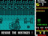 Operation Wolf ZX Spectrum Some enemies wear body armour