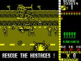 Operation Wolf ZX Spectrum I've been hit by a grenade!