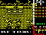Operation Wolf ZX Spectrum Watch out for those guys right up front!