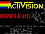 River Raid ZX Spectrum Loading screen