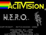 H.E.R.O. ZX Spectrum Loading screen