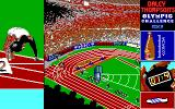 Daley Thompson's Olympic Challenge DOS 100 Meters (EGA).