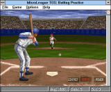 Time Out Sports: Baseball Windows 3.x Ready to strike a thrown ball with a bat