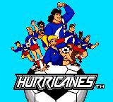 Hurricanes Game Gear Title screen