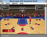 Time Out Sports: Basketball Windows 3.x Jumping to throw a ball